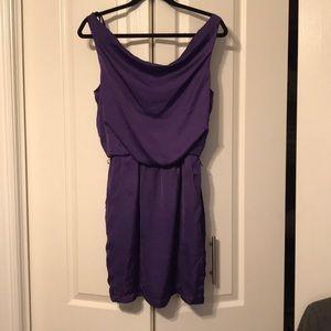 Dresses & Skirts - Plum mod cloth dress